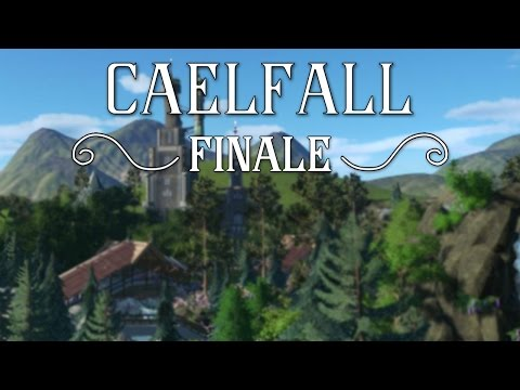 Planet Coaster: Caelfall - Finale - Timelapse & Cinematics