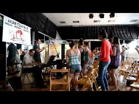 Letnie Warsztaty Muzyki Gospel - Suwałki 2012: Josh Cadman, Szymon Markiewicz