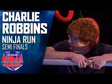 Charlie Robbins' Semi Final run blows everyone away | Australian Ninja Warrior 2019