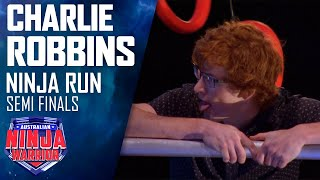 Charlie Robbins' Semi Final run blows everyone away | Australian Ninja Warrior 2019