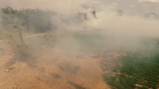 Volando dentro de Fuego de Gurabo / Flying Inside Fire in Gurabo, Puerto Rico | Watch in HD