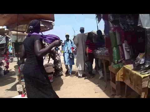Marché à Dakar 2015