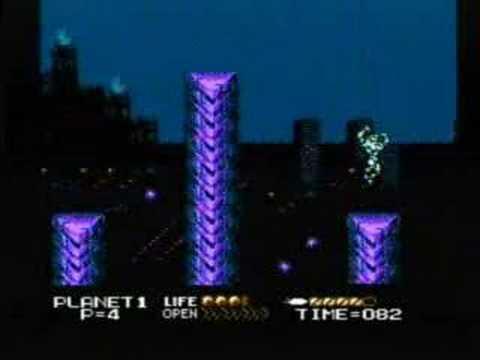 Street Fighter 2010 (NES) No-Death Run Part 1 of 3