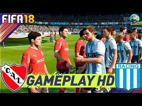 FIFA 18 Racing Club Vs Independiente - Liga Argentina