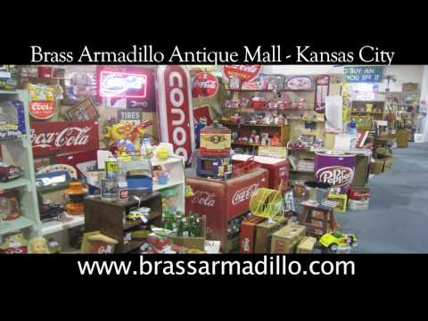 Welcome to the Kansas City Brass Armadillo Antique Mall