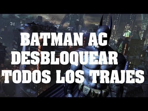 Truco de Batman Arkham City - Como Desbloquear todos los trajes, claves, codigos y trampas