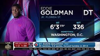 2015 NFL Draft Rd 2 Pk 39 | Chicago Bears Select DT Eddie Goldman