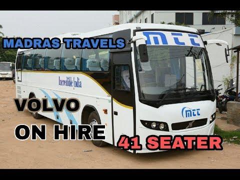 Madras Travels Volvo B7R/B9100(MTT)||INDIA||CHENNAI-COIMBATORE-TIRUPATI-COCHIN-HYDERABAD||