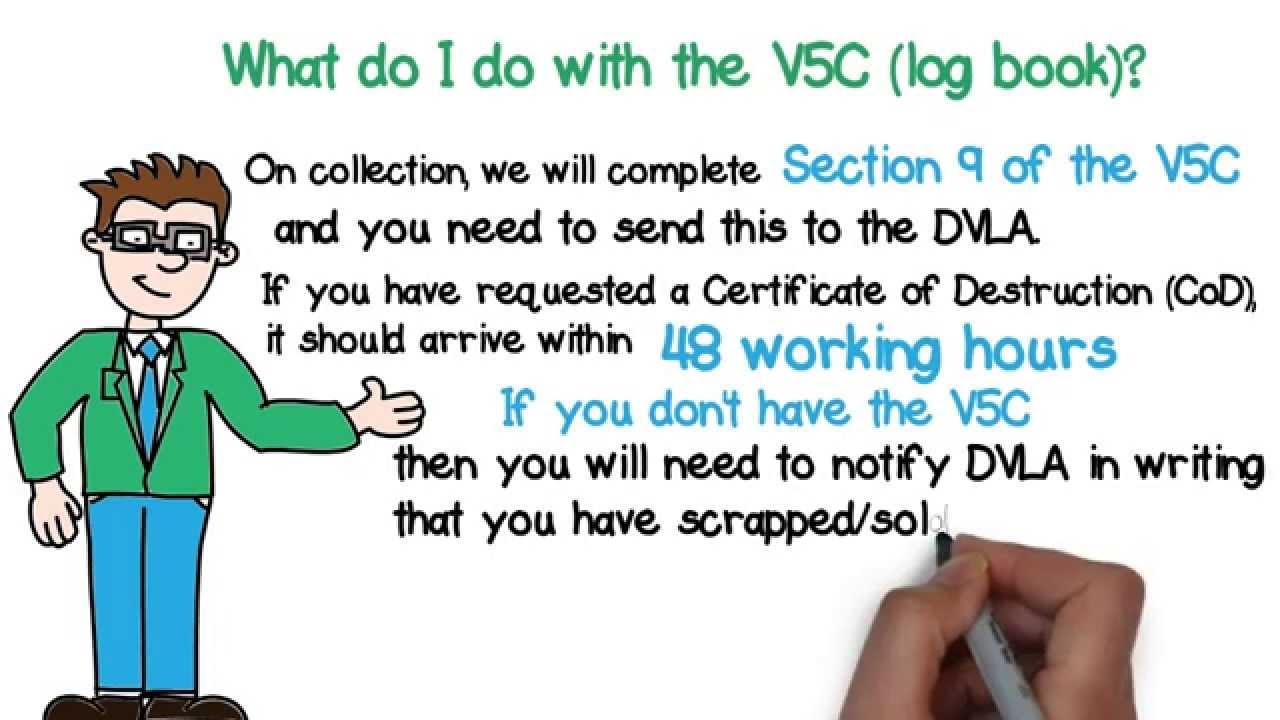 How to scrap car with no log book - What Do I Do With The V5c Log Book