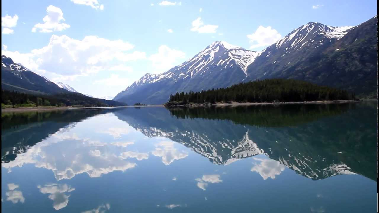Boating On Lake Bennett Yukon Youtube