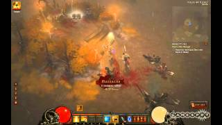 Diablo III - Searching for the Sword of the Strange Gameplay (PC)