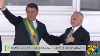 Transmissão da faixa presidencial para Jair Bolsonaro