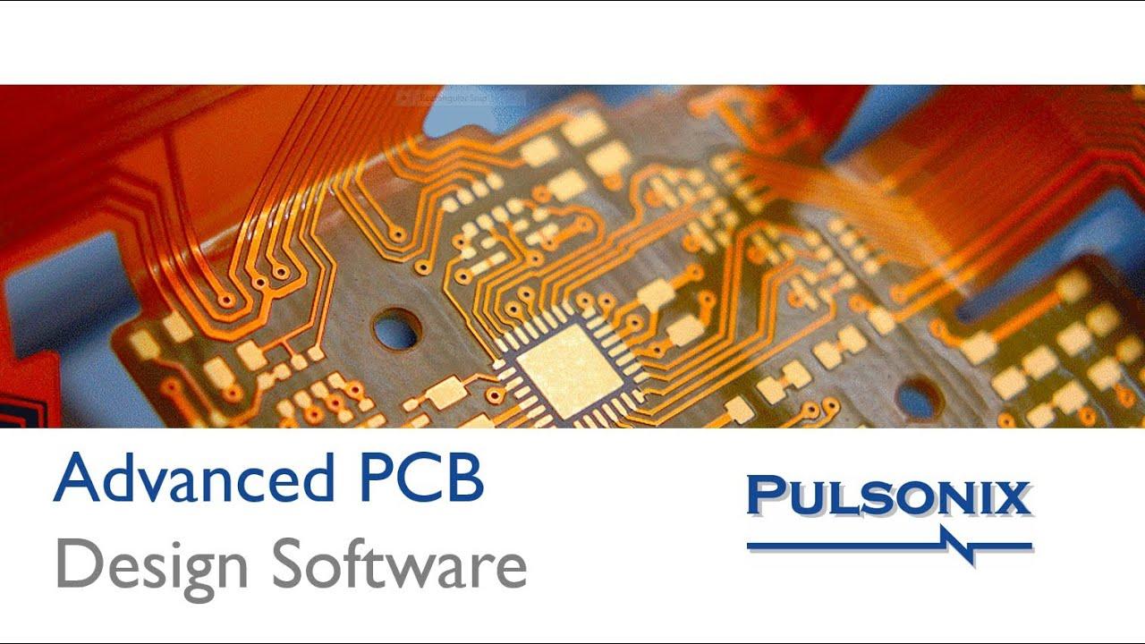 Pulsonix PCB Design Software - YouTube