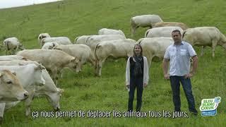 Céline et François Issolan (producteurs de viande bovine) -  éleveurs ambassadeurs Bleu-Blanc-Coeur
