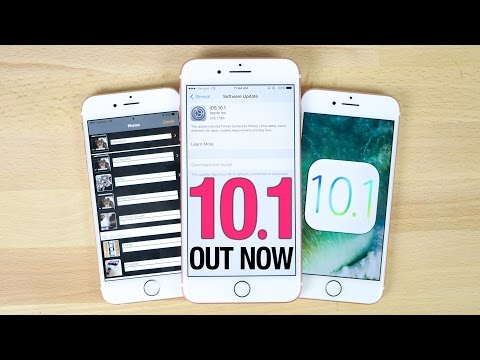iOS 10.1 Released - Everything You Need To Know!