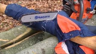 How to work with chainsaws - Safety