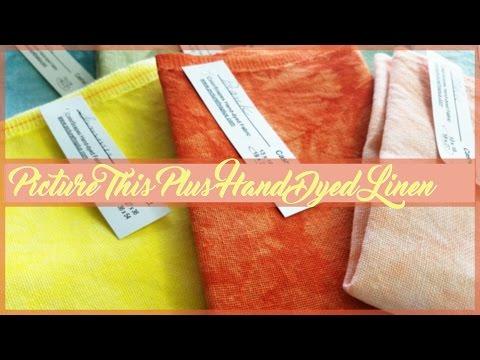 Вышивка крестом ✂ Picture This Plus Hand Dyed Linen