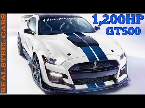 Hennessy's power packages for the 2020 Shelby GT500! - 1,200 hp twin turbo GT500!