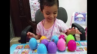 SURPRISE EGGS HUNTING CHALLENGE for KIDS | LEARNING COLOR KITKIT SURPRISES