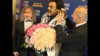 """Ф.Киркоров на """"Золотом Граммофоне-2014"""". За кулисами-2."""