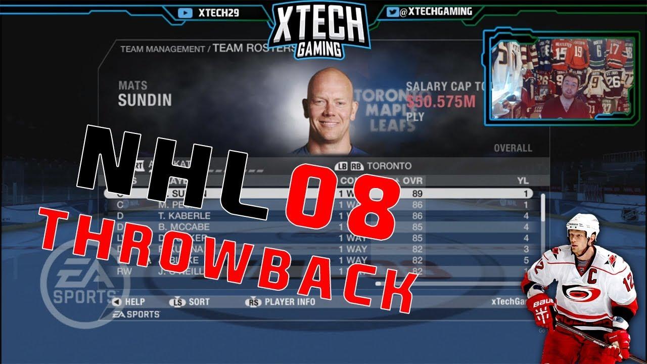 detailing 0736b d1d9d NHL 2008 THROWBACK l Rosters