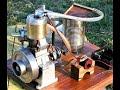 Ttwo stroke Wall model Engine run