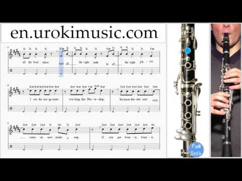 how-to-play-clarinet-meghan-trainor-all-about-that-bass-part#2-melody-school-learn-class-course-tuto