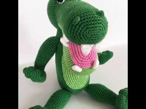 Crocodile Amigurumi Pattern Design By Alinies Youtube
