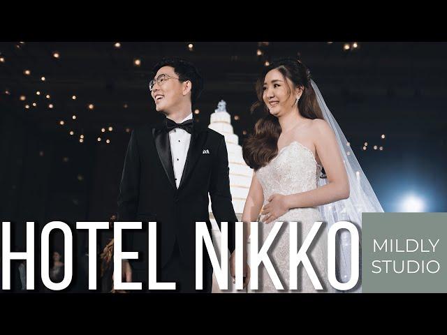 Wedding Cinematography @ Hotel Nikko Bangkok by mildly studio วีดีโองานแต่งงาน โรงแรมนิกโก้ กรุงเทพ