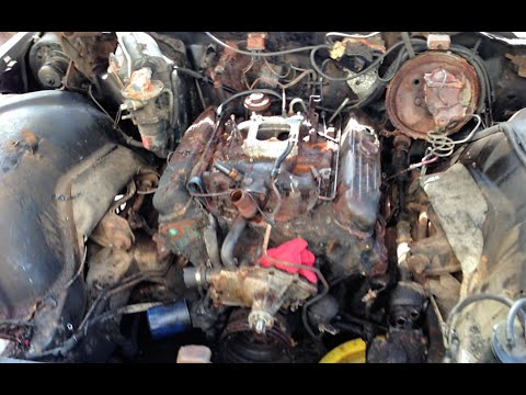 Craigslist Free 455 Buick Electra Engine Removal Part 2