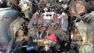 CRAIGSLIST FREE 455 BUICK ELECTRA ENGINE REMOVAL: PART 2
