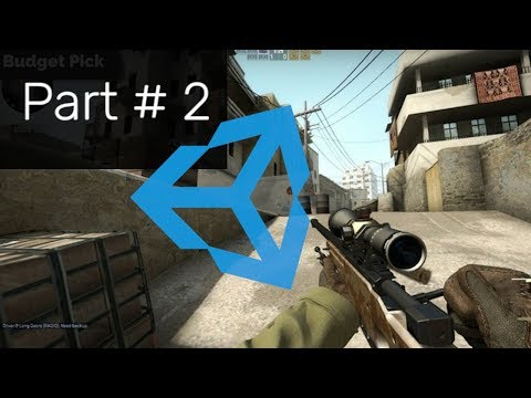 Weapon Switching_FPS_like COUNTER STRIKE_in Unity