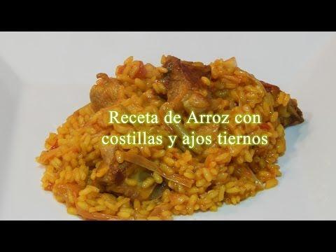 Rice recipe ribs and garlic