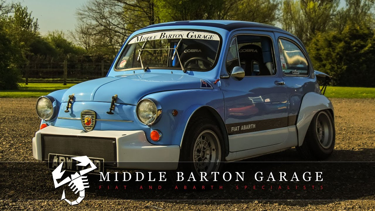 Fiat abarth 1000 corsa middle barton garage youtube for Garage fiat 94