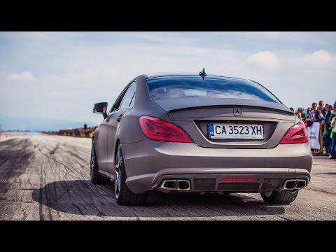 700HP Renntech Mercedes - Benz CLS 63 - CRAZY Acceleration