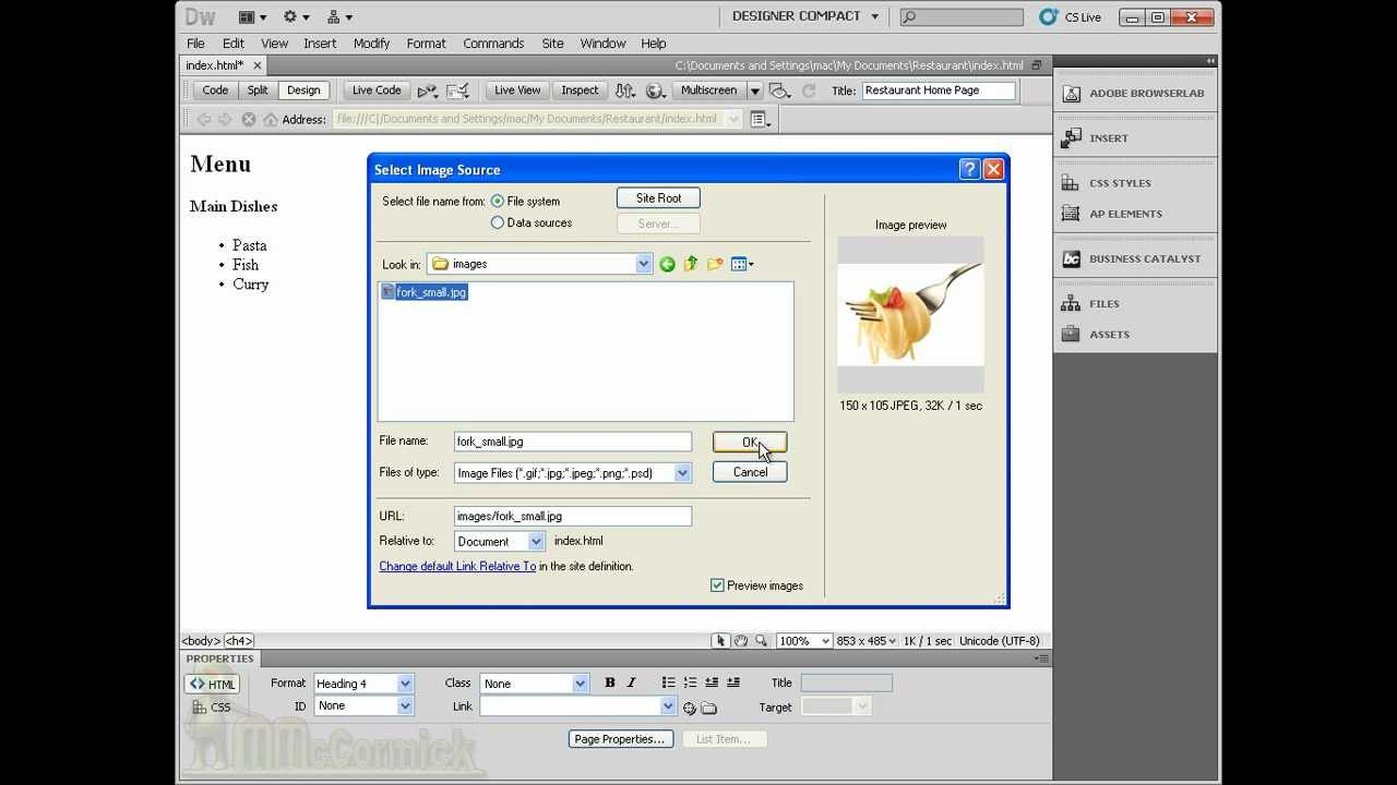 how to add search in dreamweaver