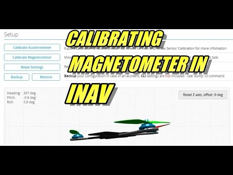 INAV: Calibrating Magnetometer