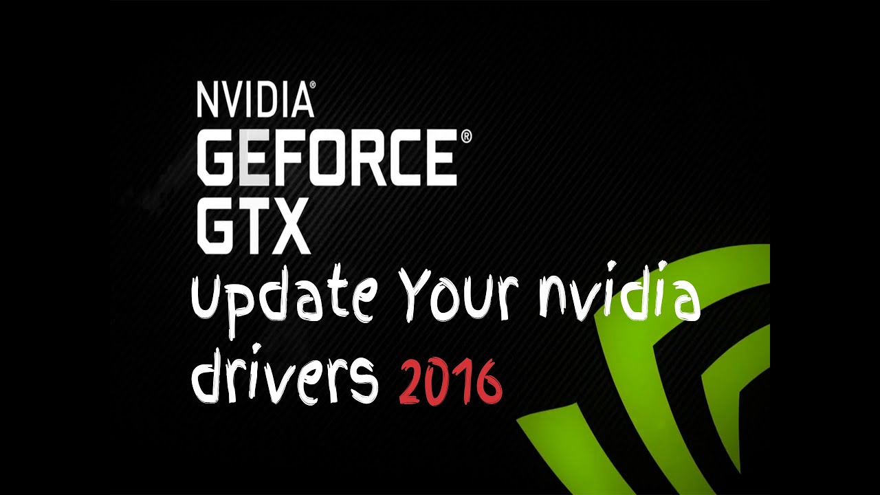 How to Update nvidia drivers windows 10 Using Ge-force experience 2016