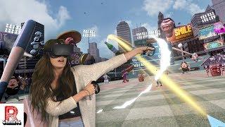 We Try VR Baseball for Oculus Rift