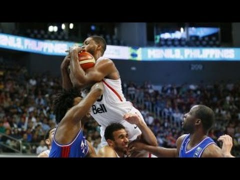 France vs Canada - Full Highlights | FIBA (OQT) Manila, Philippines Final Games 2016
