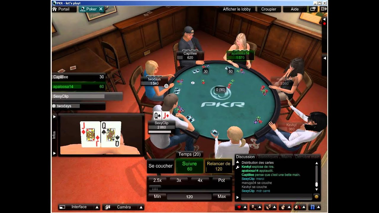 Pkr Let 39 S Play Poker 3d Online Poker Youtube