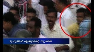 Attack against Oommen Chandy in Kannur :More Visuals