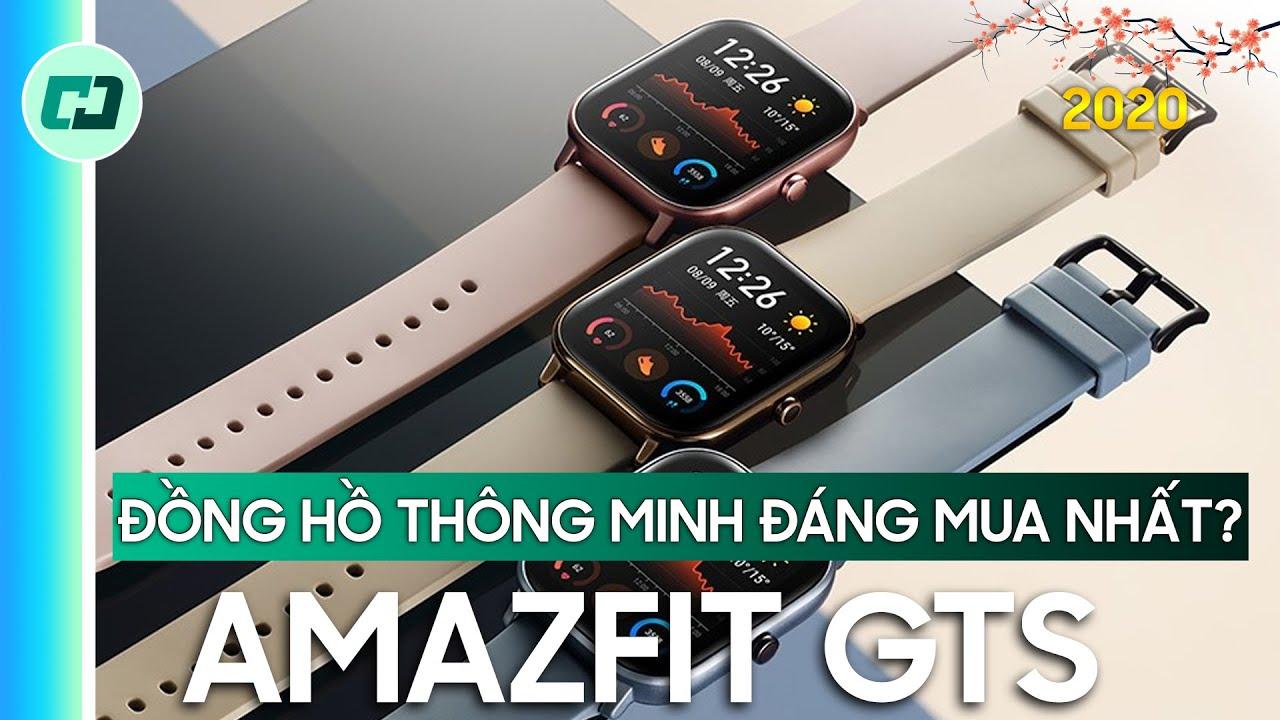 Amazfit GTS: Chiếc đồng hồ thông minh đáng mua nhất?!