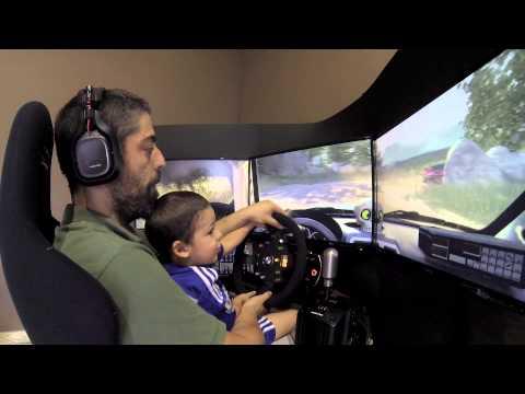 De Rally Con Mi Hijo Alex - Subaru Impreza WRC STI @ Valebitska Avantura | Fanatec ClubSport