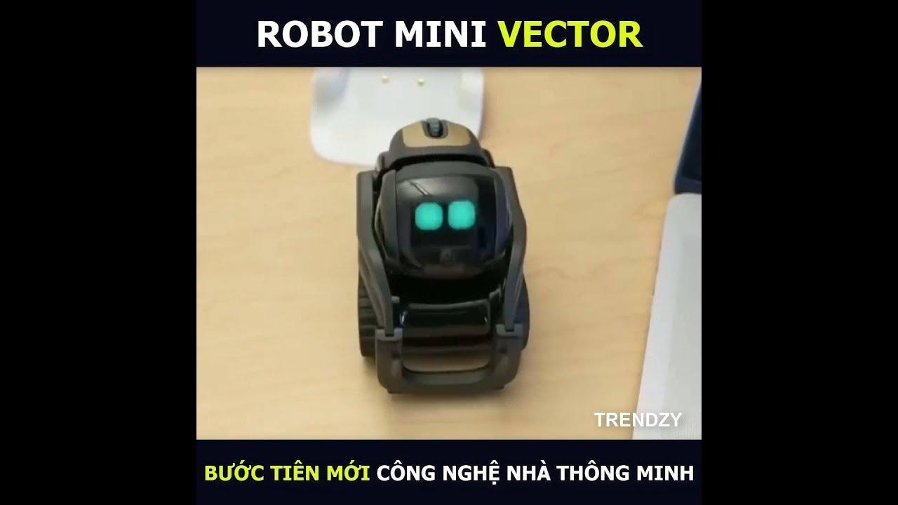 ROBOT VECTOR | THÚ CƯNG CÔNG NGHỆ 2019 | Thông minh như quản gia