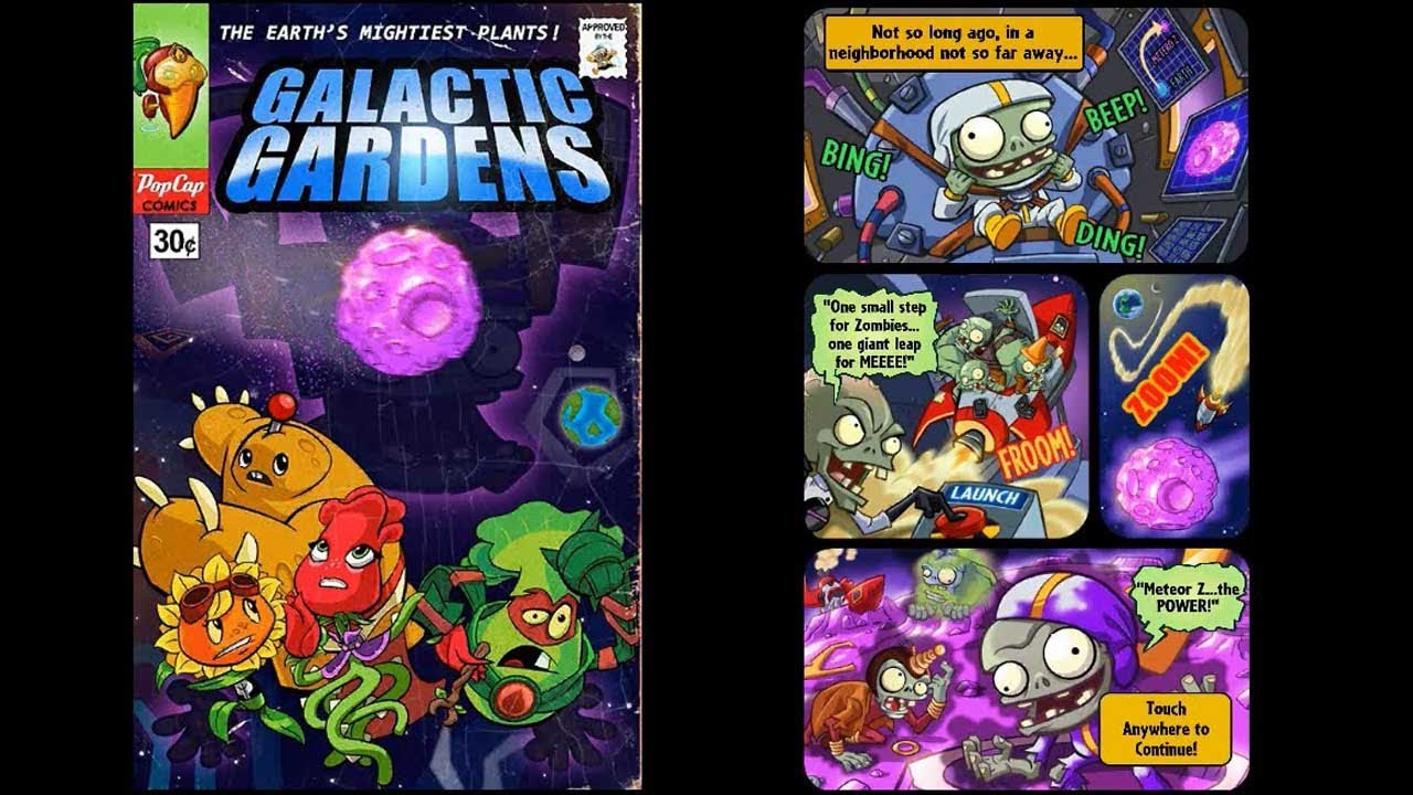 Plants Vs Zombies Heroes Galactic Update Quick Review