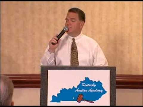 Kentucky Auction Academy Steve Cherry Bid Calling Drills