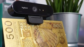 Logitech Brio 4K Stream Edition - recenzja Tabletowo.pl