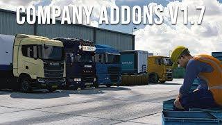 Company Addons *Realistic Mod* | Euro Truck Simulator 2 Mod