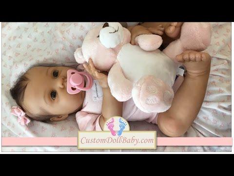 Beautiful Lifelike Biracial Reborn Baby Girl: Anastasia!